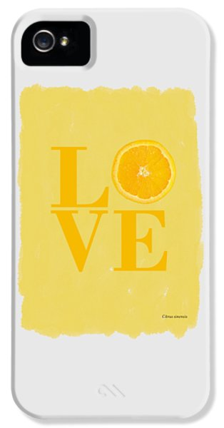 Orange IPhone 5s Case by Mark Rogan