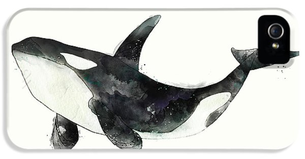 Orca From Arctic And Antarctic Chart IPhone 5s Case by Amy Hamilton