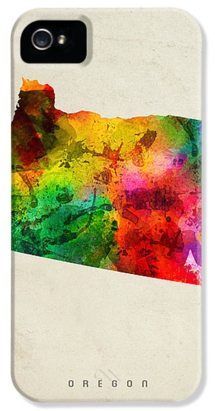 Oregon State Map 01 IPhone 5s Case
