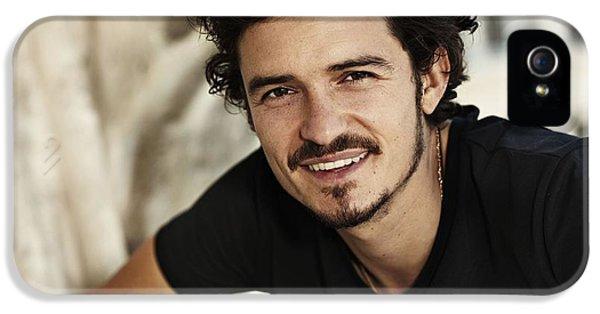 Orlando Bloom iPhone 5s Case - Orlando Bloom by Dorothy Binder