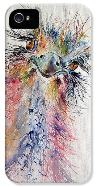 Ostrich iPhone 5s Case - Ostrich by Kovacs Anna Brigitta