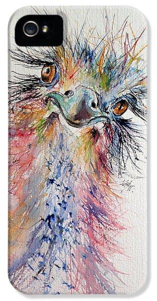 Ostrich IPhone 5s Case by Kovacs Anna Brigitta