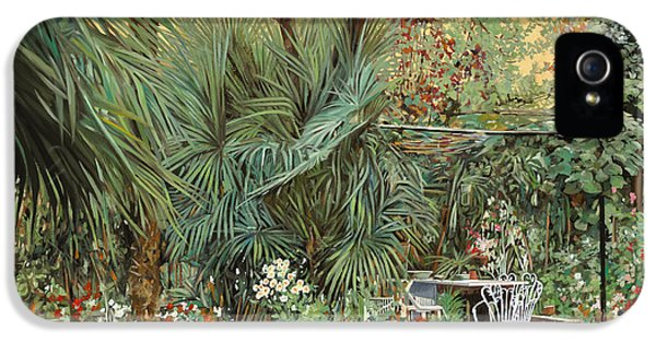 Our Little Garden IPhone 5s Case by Guido Borelli
