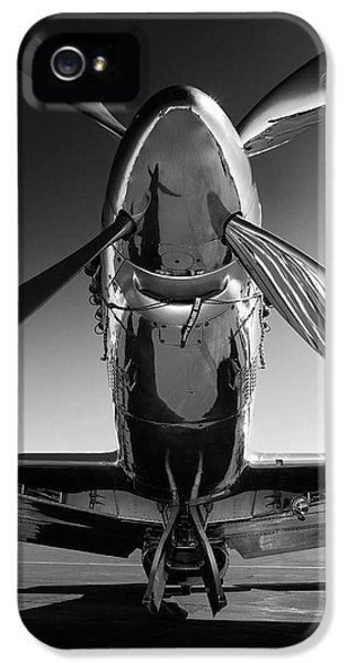 Airplane iPhone 5s Case - P-51 Mustang by John Hamlon