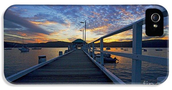 Palm Beach Wharf At Dusk IPhone 5s Case