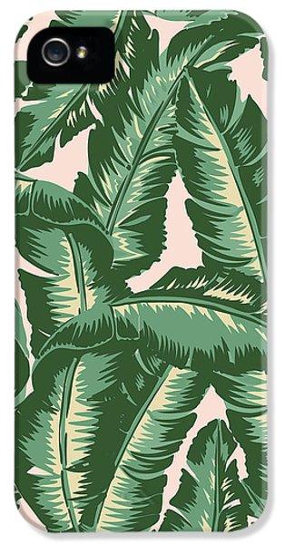 Palm Print IPhone 5s Case by Lauren Amelia Hughes