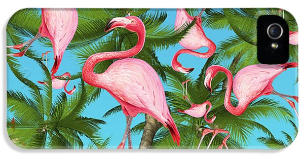 Fantasy iPhone 5s Case - Palm Tree by Mark Ashkenazi