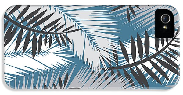 Fantasy iPhone 5s Case - Palm Trees 10 by Mark Ashkenazi