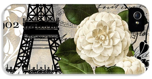 Paris Blanc I IPhone 5s Case by Mindy Sommers