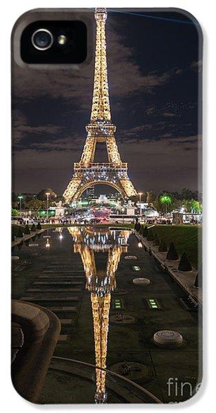 Paris Eiffel Tower Dazzling At Night IPhone 5s Case