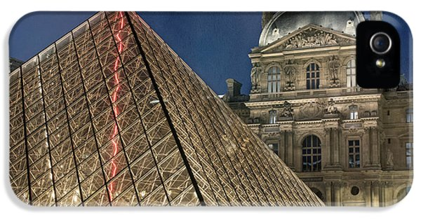 Paris Louvre IPhone 5s Case by Juli Scalzi
