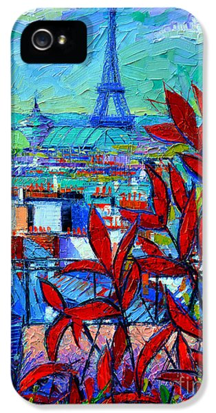 Paris Rooftops - View From Printemps Terrace   IPhone 5s Case