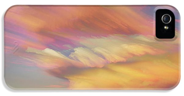 IPhone 5s Case featuring the photograph Pastel Painted Big Country Sky by James BO Insogna