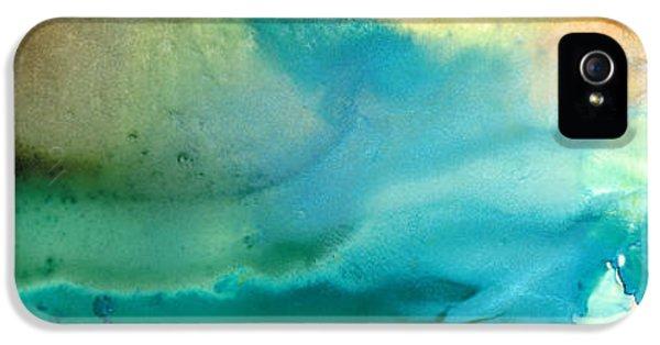 Water Ocean iPhone 5s Case - Pathway To Zen by Sharon Cummings