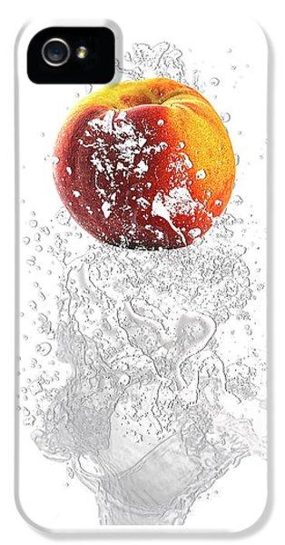 Peach Splash IPhone 5s Case by Marvin Blaine