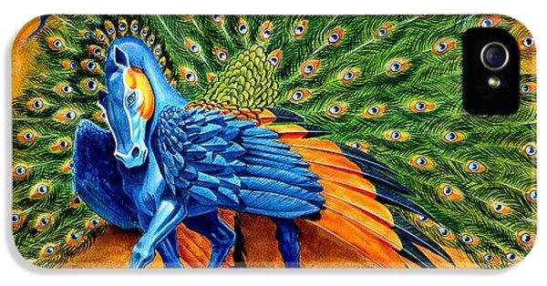 Peacock Pegasus IPhone 5s Case