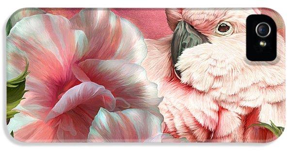 Peek A Boo Cockatoo IPhone 5s Case by Carol Cavalaris