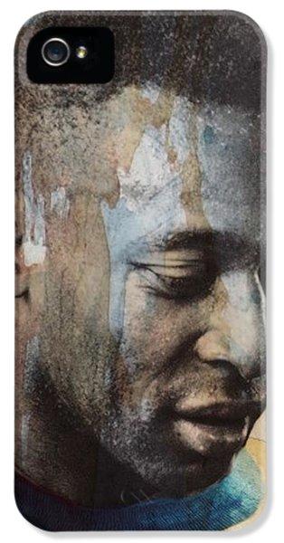 Pele iPhone 5s Case - Pele  by Paul Lovering