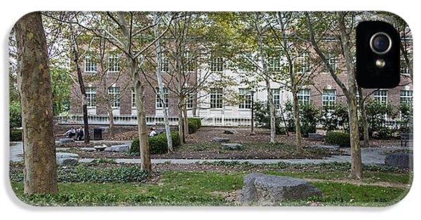 Penn State University iPhone 5s Case - Penn State Courtyard  by John McGraw