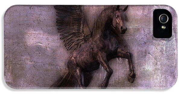 Pegasus iPhone 5s Case - Phantom  by Betsy Knapp