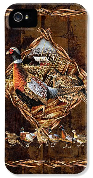 Pheasant iPhone 5s Case - Pheasant Lodge by JQ Licensing