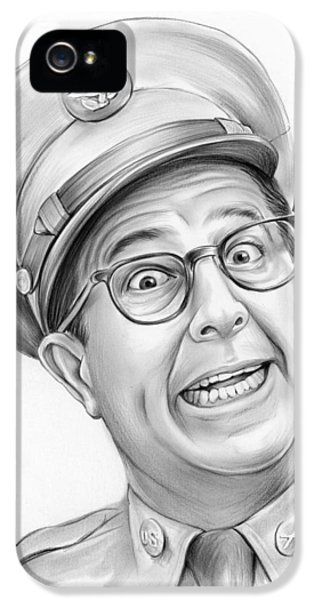 1950s iPhone 5s Case - Phil Silvers by Greg Joens