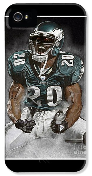 Philadelphia Eagles Brian Dawkins The Legend IPhone 5s Case
