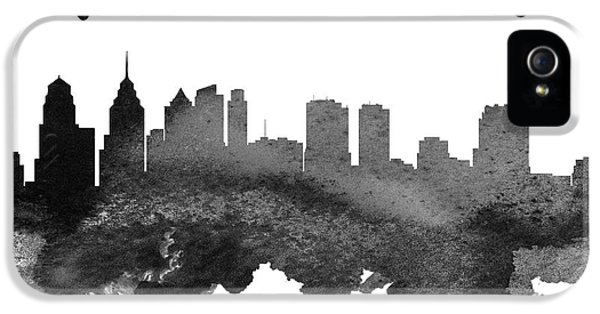 Philadelphia Pennsylvania Skyline 18 IPhone 5s Case by Aged Pixel