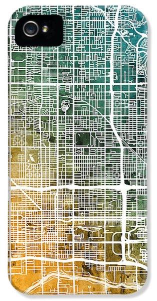 Phoenix Arizona City Map IPhone 5s Case