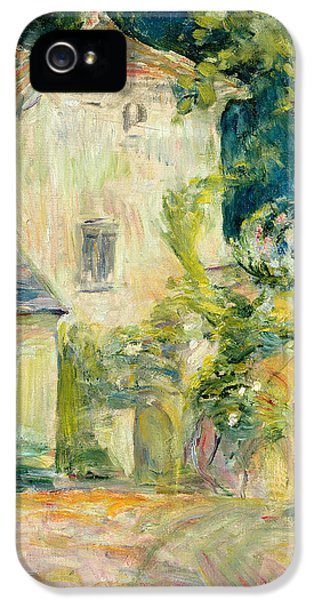 Pigeon iPhone 5s Case - Pigeon Loft At The Chateau Du Mesnil by Berthe Morisot