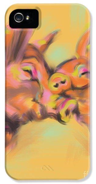 Piggy Love IPhone 5s Case by Go Van Kampen