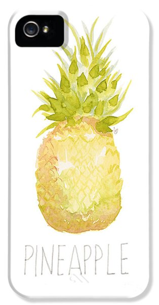 Pineapple IPhone 5s Case by Cindy Garber Iverson