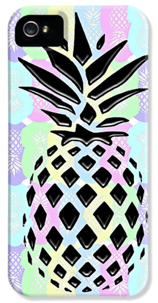 Pineapple Collage IPhone 5s Case by Liesl Marelli