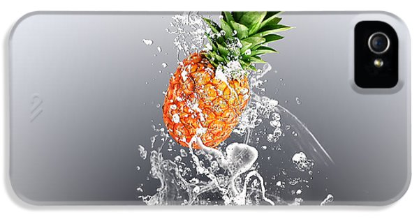 Pineapple Splash IPhone 5s Case by Marvin Blaine
