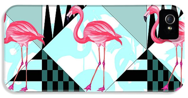 Ping Flamingo IPhone 5s Case by Mark Ashkenazi