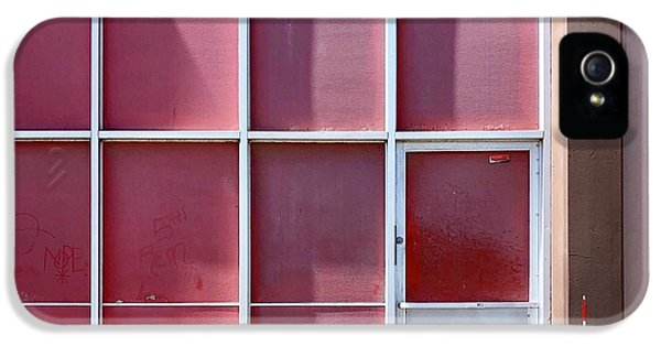 iPhone 5s Case - Pink Squares by Julie Gebhardt