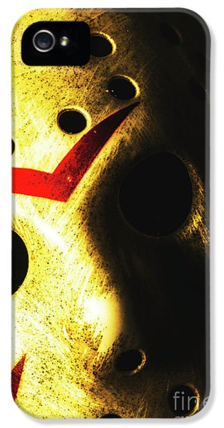 Hockey iPhone 5s Case - Playing The Intimidator by Jorgo Photography - Wall Art Gallery