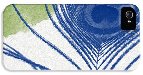 Peacock iPhone 5s Case - Plumage 3- Art By Linda Woods by Linda Woods