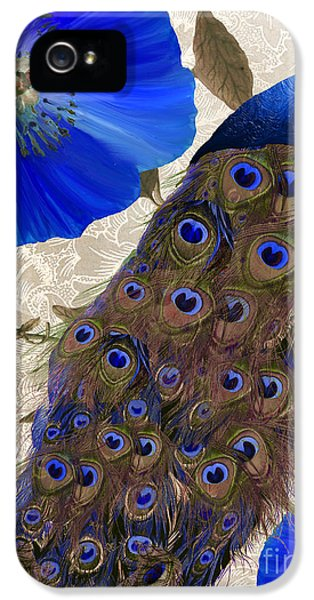 Peacock iPhone 5s Case - Plumage by Mindy Sommers