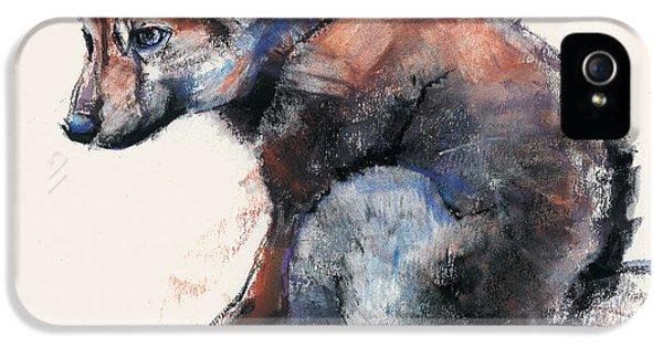 Polish Wolf Pup IPhone 5s Case