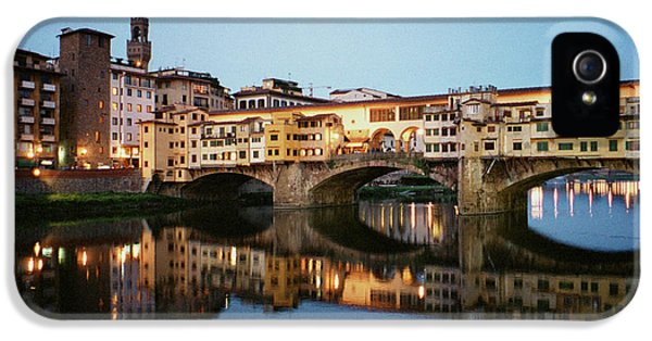 Dick Goodman iPhone 5s Case - Ponte Vecchio by Dick Goodman