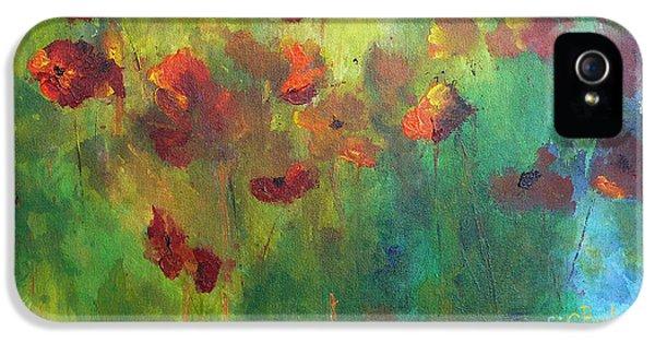 Poppies IPhone 5s Case