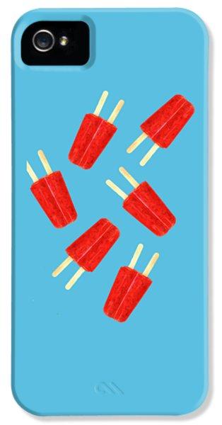 Desert iPhone 5s Case - Popsicle T-shirt by Edward Fielding