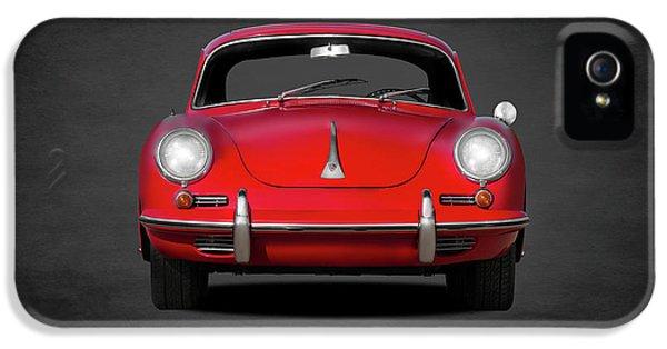Car iPhone 5s Case - Porsche 356 by Mark Rogan