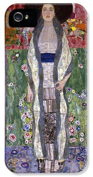Portrait Of Adele Bloch-bauer II IPhone 5s Case by Gustav Klimt