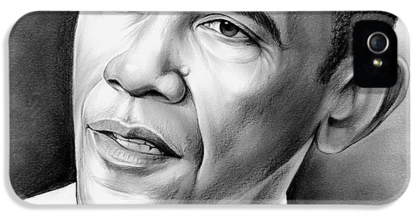 Barack Obama iPhone 5s Case - President Barack Obama by Greg Joens
