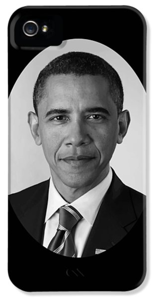 President Barack Obama IPhone 5s Case by War Is Hell Store