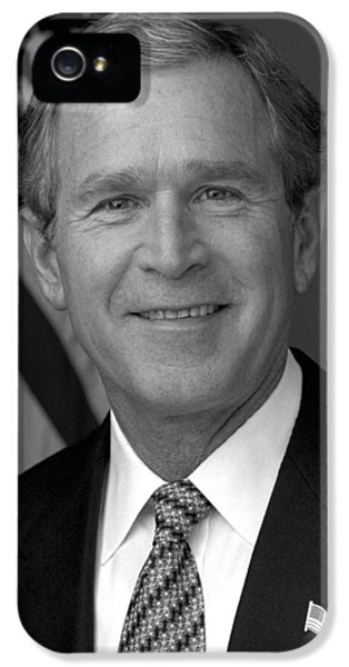 George Bush iPhone 5s Case - President George W. Bush by War Is Hell Store