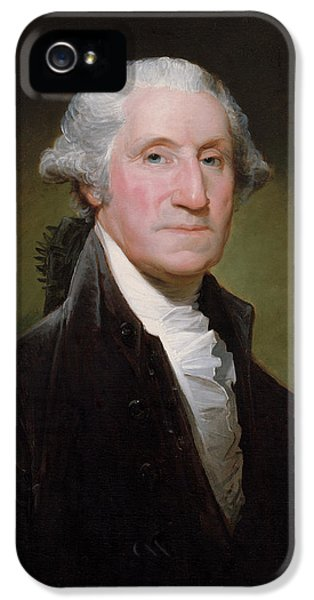 President George Washington IPhone 5s Case by War Is Hell Store