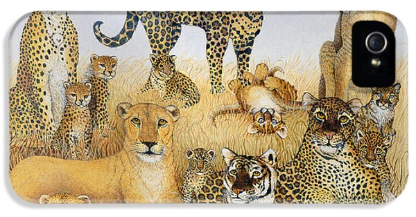 The Big Cats IPhone 5s Case by Pat Scott